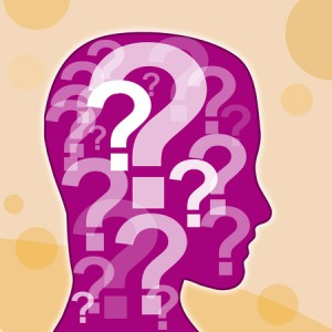 45986560 - question mark in the head